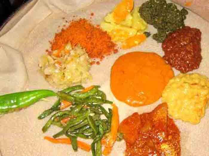 Abyssinia Authentic Ethiopian Cuisine Restaurant & Bar! 554 S  5th